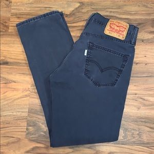 Men's 511 Levi's Slim Fit Twill Pants